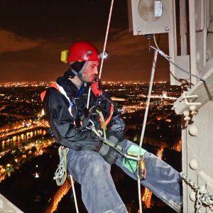 LOV2 en action sur la Tour Eiffel